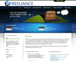 Web-JIVE rolls out Freeliance.org website