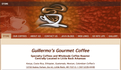 Guillermo's (G3) Coffee is a great site for some fantastic coffee!