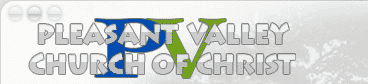 Pleasant Valley Church of Christ has a fantastic site, created by Web-JIVE